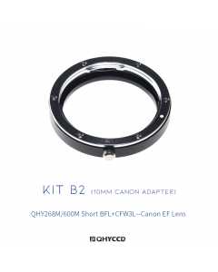 Adaptador para Lentes Canon EF con QHY600M Short y QHY268M y CFW3 Large